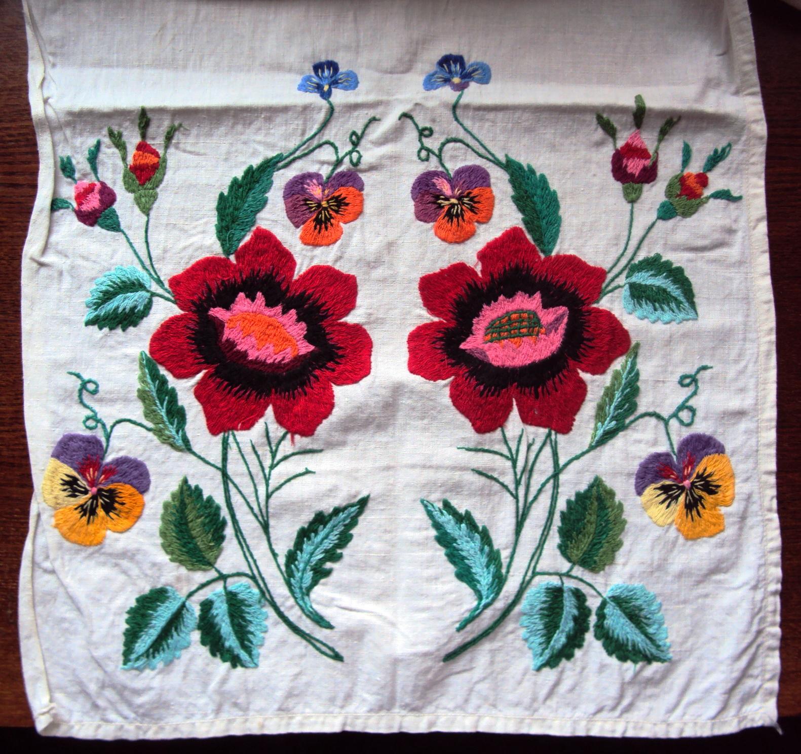 Вышивка на полотенце - podarki 20